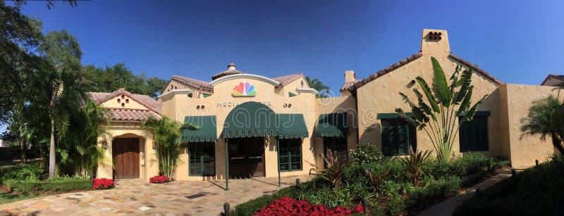 NBC Media Center inside Universal Studios. The NBC Media Center located inside Universal Studios in Orlando, Florida royalty free stock photography
