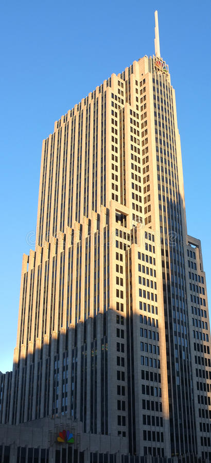 Download NBC Tower editorial stock image. Image of downtown, antenna - 31446419