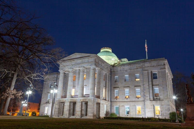 NC Kapitałowy Buduje Raleigh, Pólnocna Karolina fotografia stock