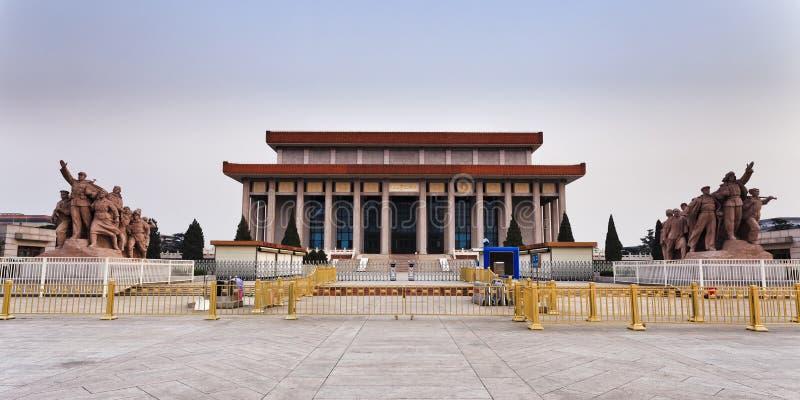NC Tiananmen Mao Entry foto de stock royalty free