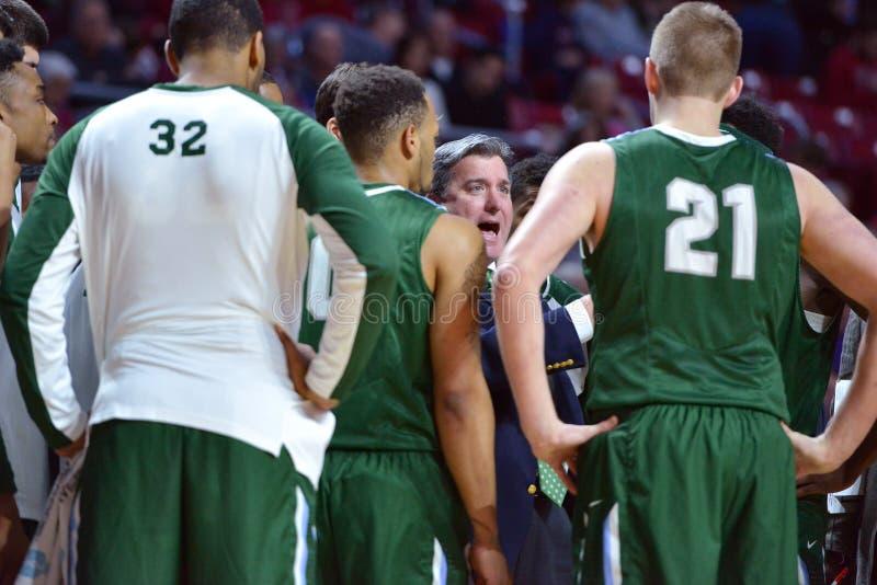 2015 NCAA Basketball - Temple-Tulane royalty free stock photo