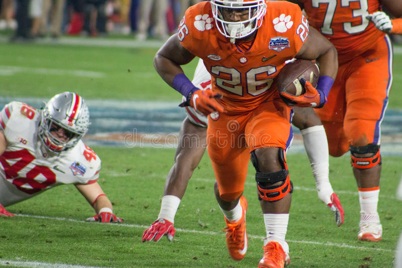 NCAA Football Clemson Tigers at the Fiesta Bowl royalty free stock photography