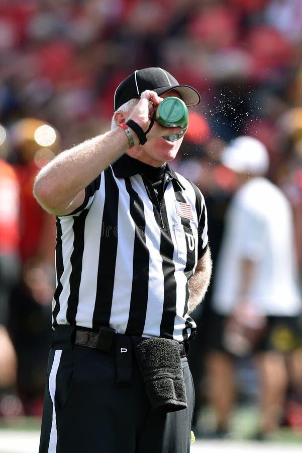 2015 NCAA-fotboll - USF @ Maryland arkivbild