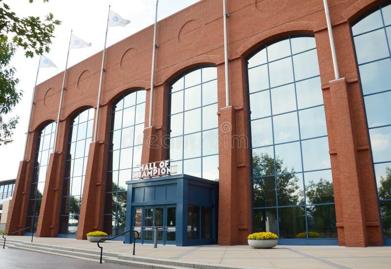 NCAA Hall von Meistern, Indianapolis lizenzfreies stockbild
