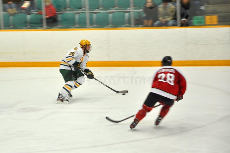 NCAA Ice Hockey Game in Clarkson University