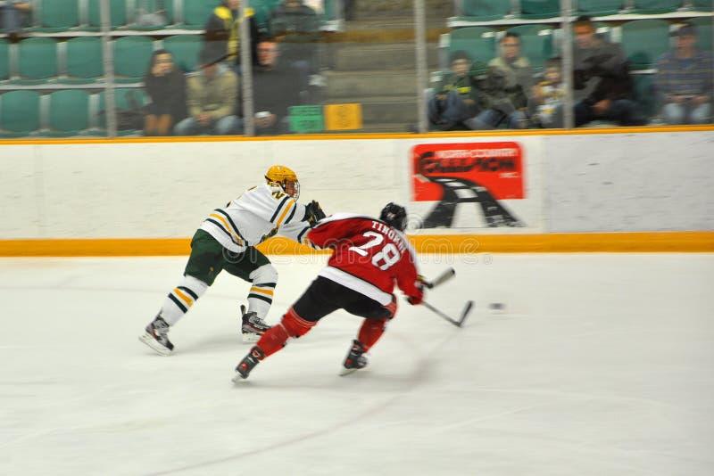 NCAA Ice Hockey Game In Clarkson University Editorial Stock Image