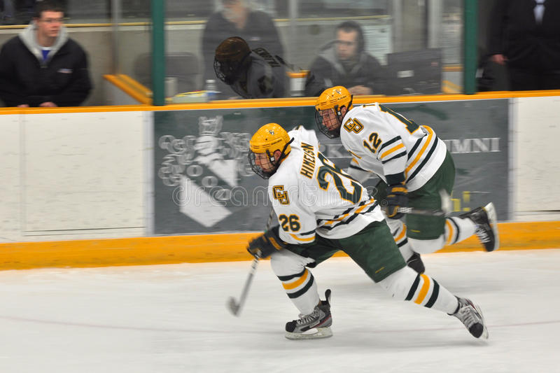 Download NCAA Ice Hockey Game In Clarkson University Editorial Image - Image: 23600165