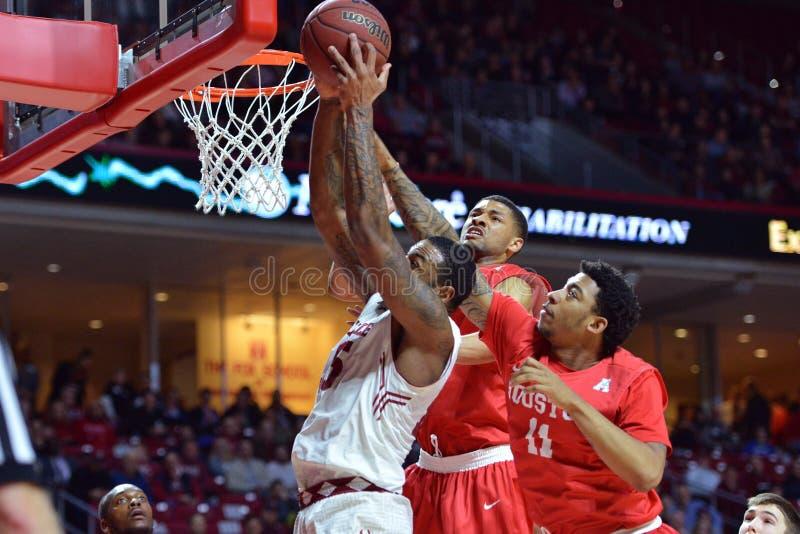 2015 NCAA mężczyzna koszykówka - Houston zdjęcie royalty free