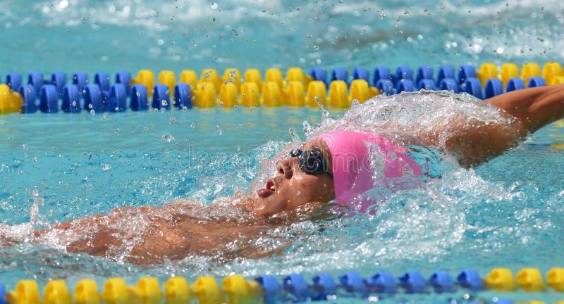 Ncaa-simning 2012 fotografering för bildbyråer