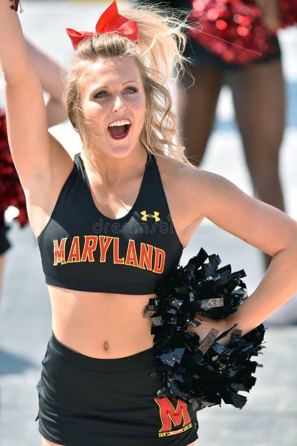 2015 NCAA Voetbal - USF @ Maryland stock fotografie