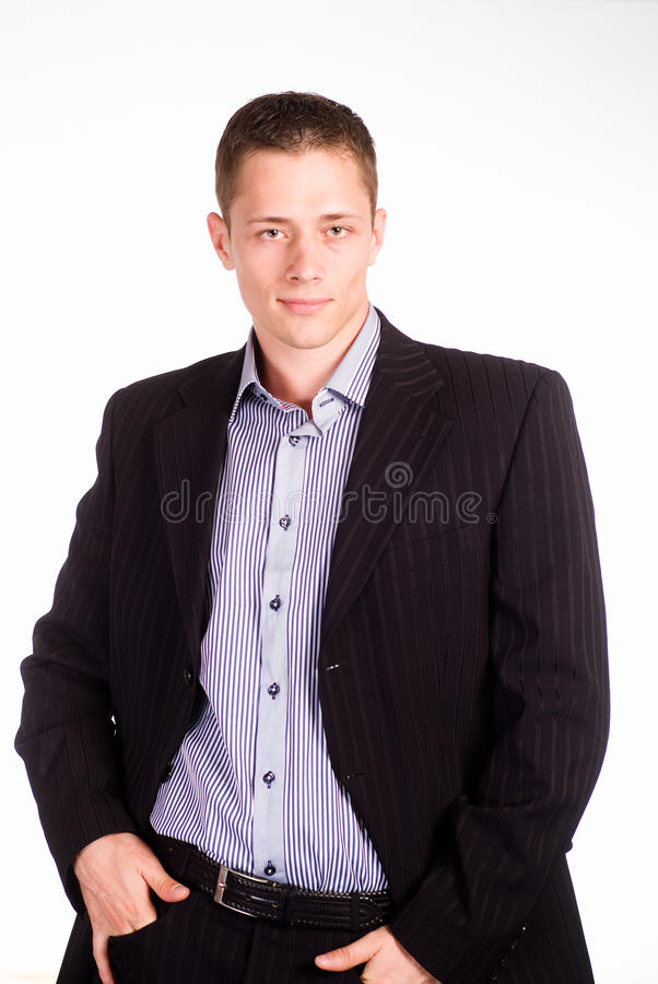 Download Ncie boy in suit stock photo. Image of occupation, modern - 19956610
