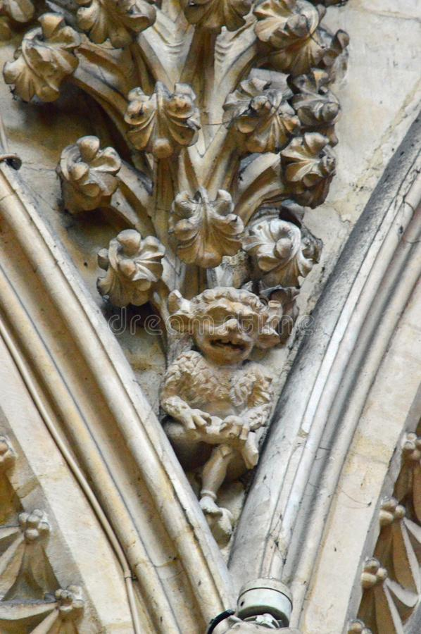 Lincoln Cathedral Lincoln Imp stock photo