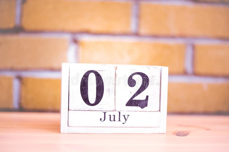 2nd of July - 2 July - Birthday - National Anisette Day royalty free stock images