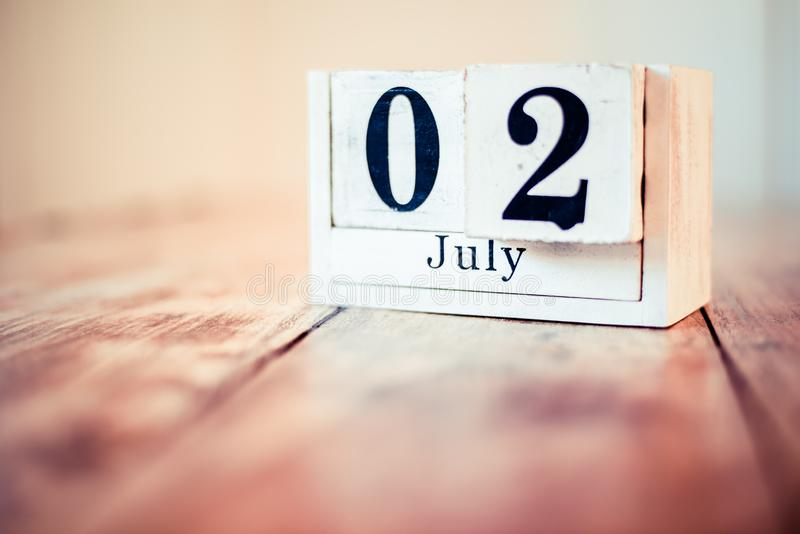 2nd of July - 2 July - National Anisette Day. Birthday royalty free stock images