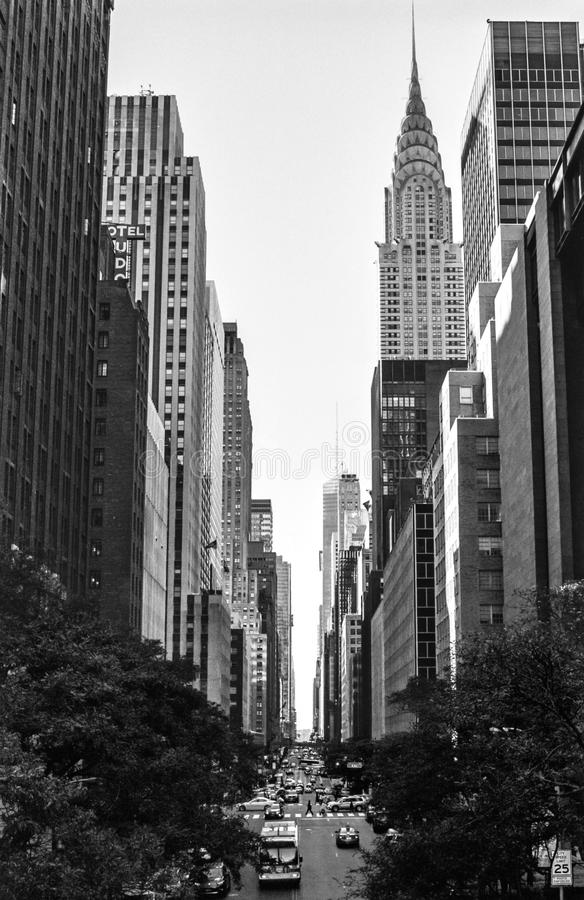 42nd St View stock photos