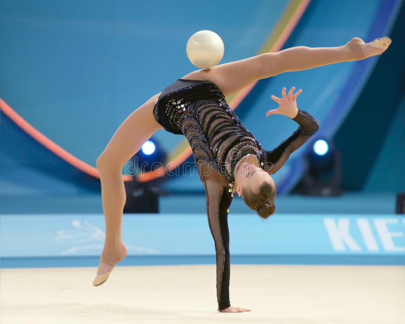 Download 32nd World Championship In Rhythmic Gymnastics Editorial Stock Image - Image of girl, flexibility: 33433649