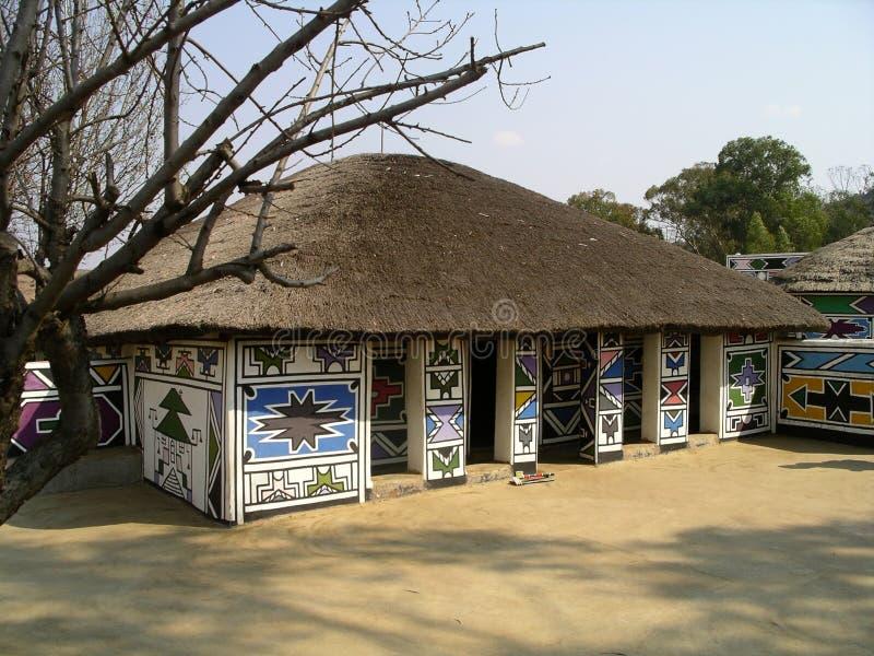 Ndebele by arkivbild