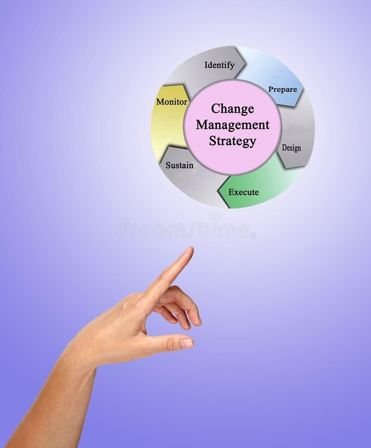 ?ndern Sie Management-Strategie vektor abbildung