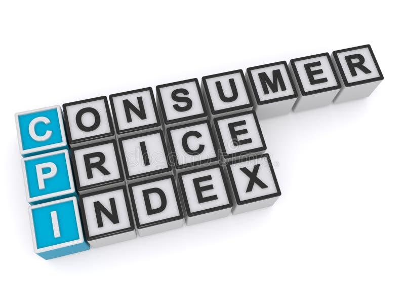 ?ndice de precios al consumo libre illustration