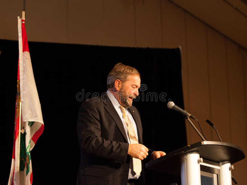 NDP Federal Opposition Leader Thomas Mulcair