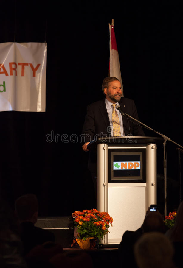 Download NDP Federal Opposition Leader Thomas Mulcair Editorial Image - Image: 27127135