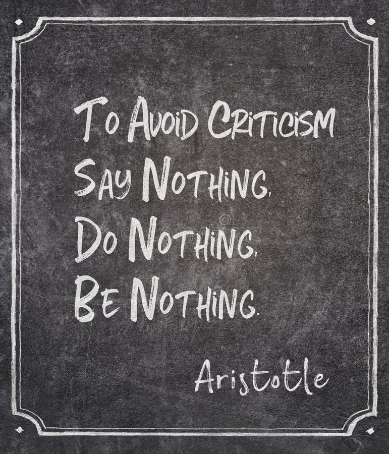 Ne dites rien Aristote photo stock