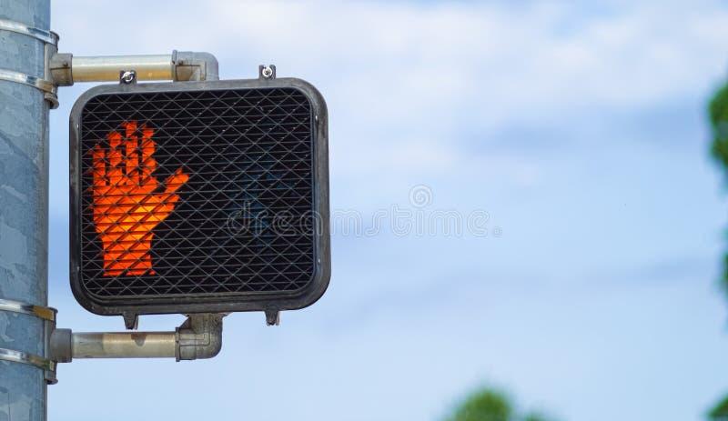 Ne marchent pas le signe photo libre de droits