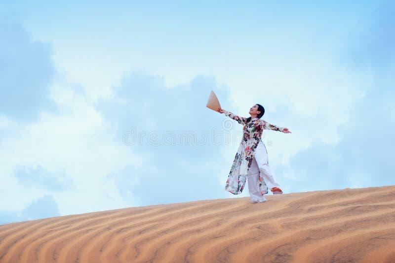 Ne rouge de Mui de sable image stock