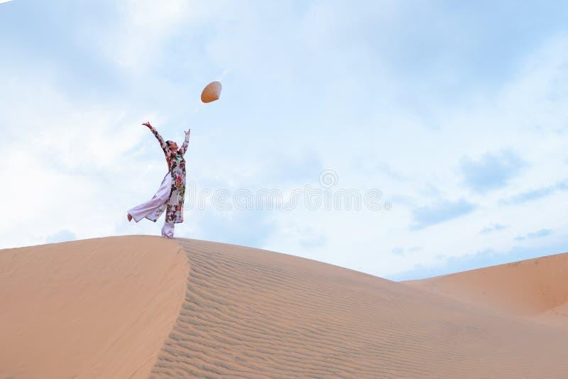 Ne rouge de Mui de sable photos stock