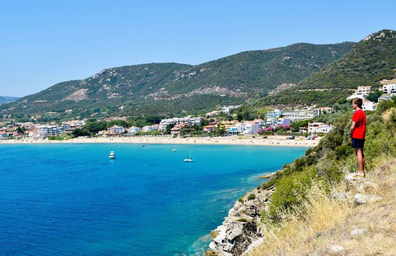 Nea Iraklitsa em Grécia imagem de stock