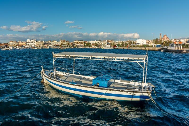Nea Moudania - Chalkidiki, Greece. Panoramic view stock image