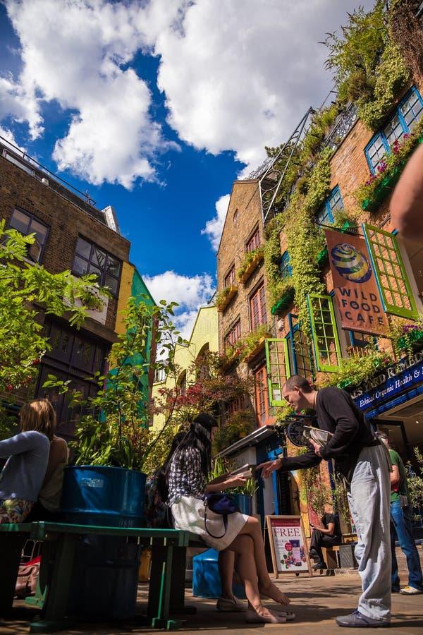 NealÂs Yard lizenzfreies stockfoto