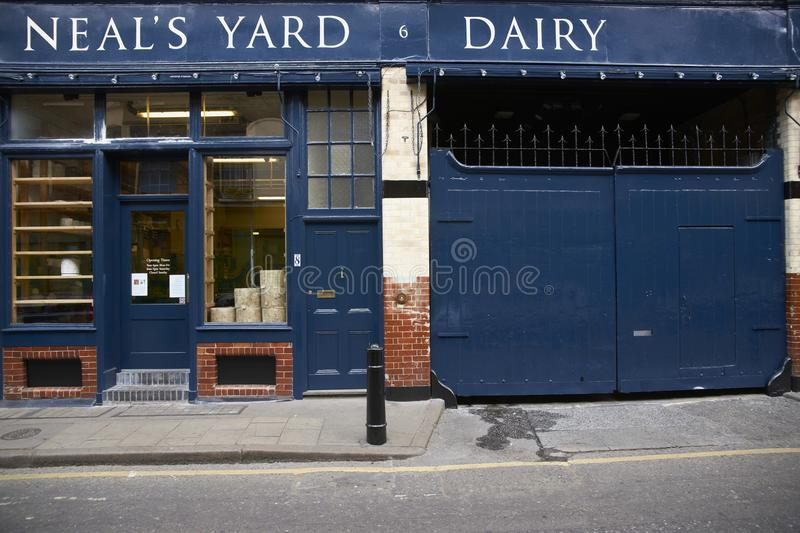 Neal's Yard Dairy royalty free stock photography
