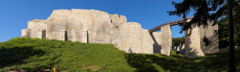 Neamt Festung stockfotografie