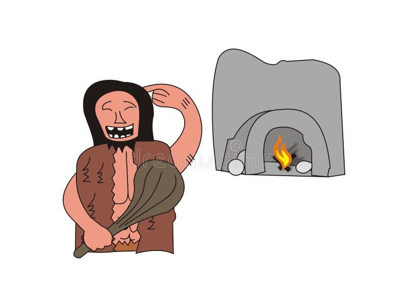 Neandertal vektor abbildung