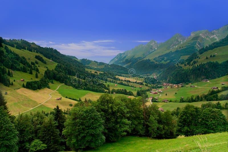 Near Gruyeres, Switzerland royalty free stock image