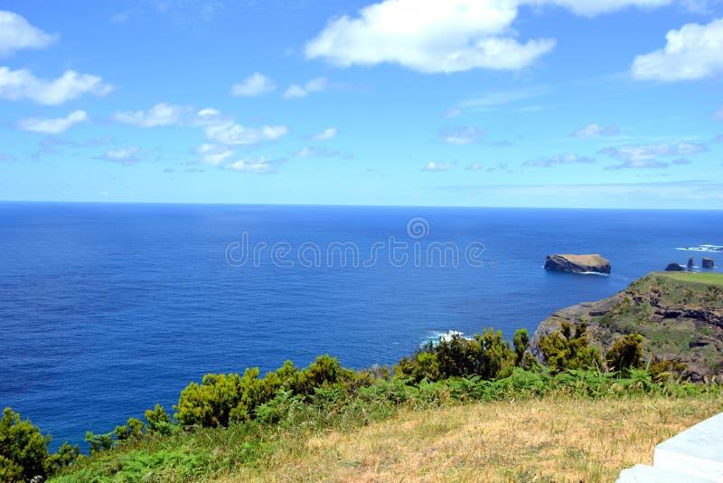 Near Mosteiros Beach, Sao Miguel, Azores, Portugal stock image