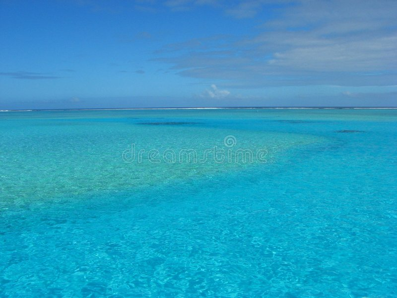 Download Near One Foot Island, Cook Islands Stock Image - Image: 5524373