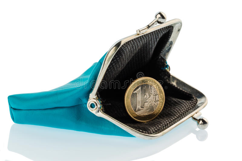 Nearly empty wallet royalty free stock image