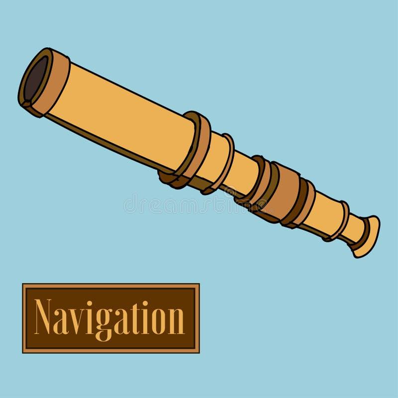 nearsighted vector illustratie