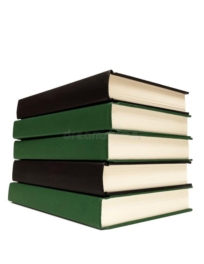 Free Neatly Stacked Books Isolated On White Royalty Free Stock Image - 43488506