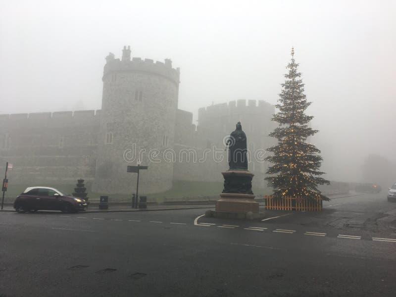 Nebbia di Natale fotografia stock