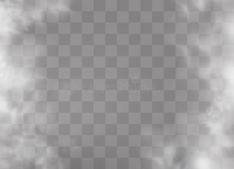 Nebbia o fumo illustrazione vettoriale
