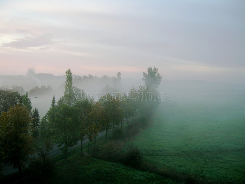 Nebel. lizenzfreies stockbild