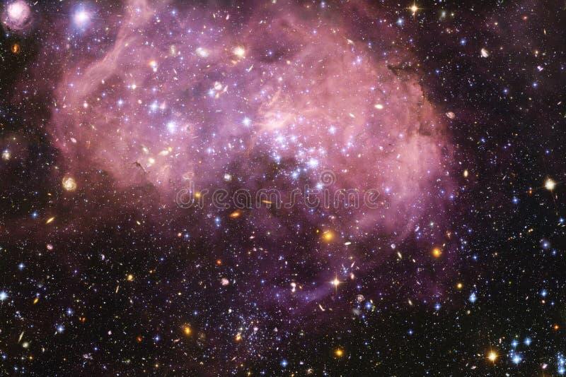 Nebelfleck eine interstellare Wolke des Weltraumbildes des Sternstaubes stockbilder