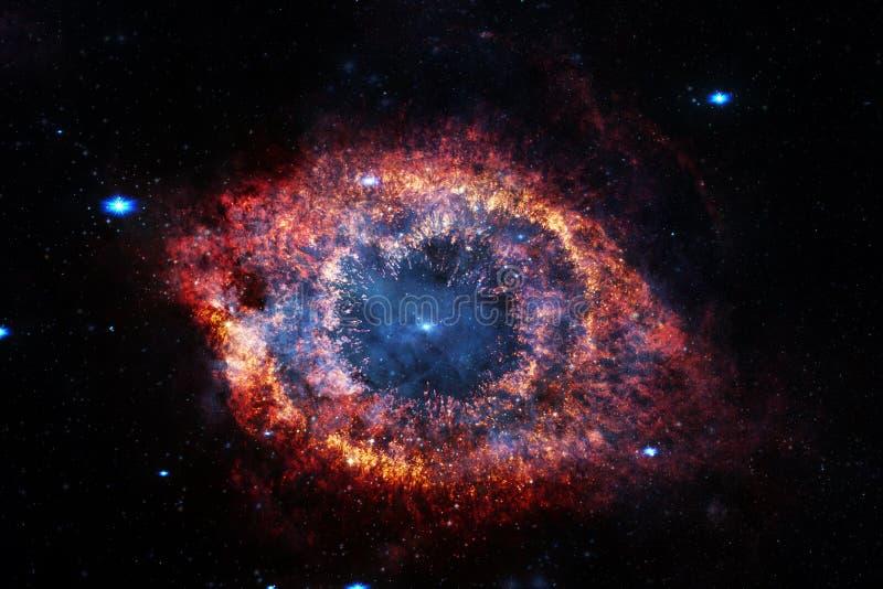 Nebelfleck eine interstellare Wolke des Weltraumbildes des Sternstaubes stockfotografie
