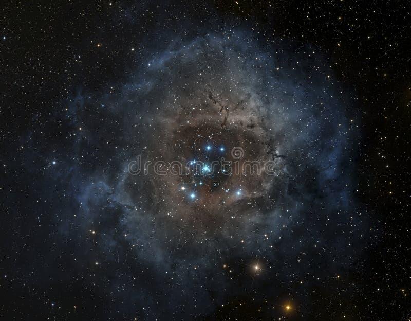 Nebelfleck im Weltraum stock abbildung