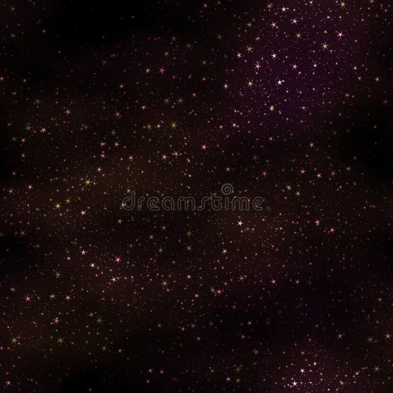 Nebelige Sterne vektor abbildung