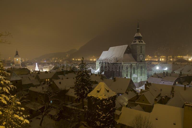 Neblina en mi ciudad fotos de archivo libres de regalías