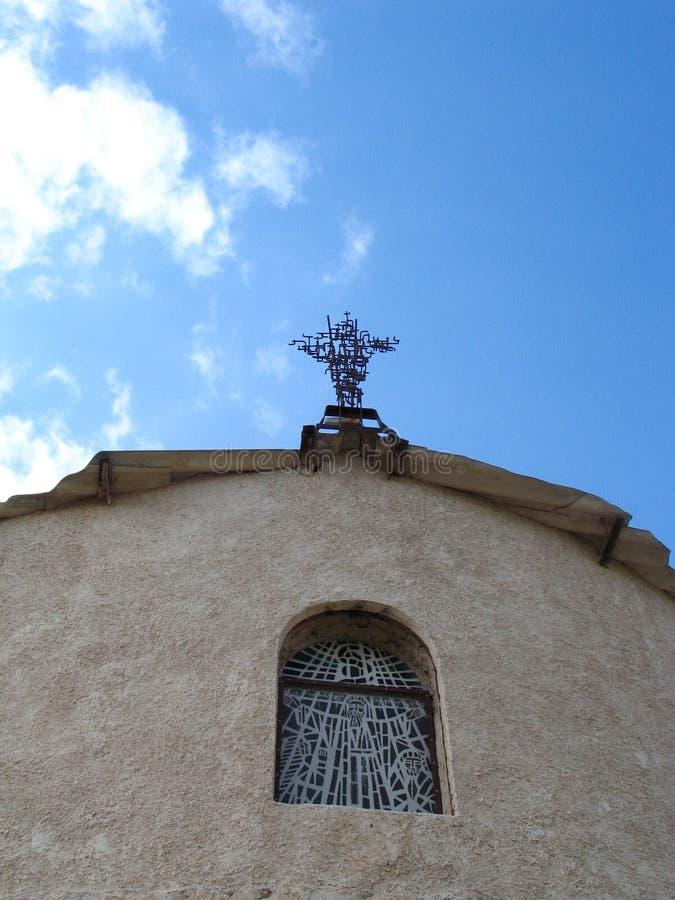nebo горы церков стоковое изображение